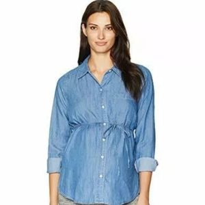 NWOT MOTHERHOOD MATERNITY JEAN TOP